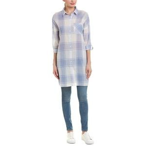 NWT Loveriche by Very J Plaid Tunic